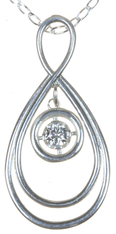 double tier pendant